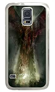 Samsung Galaxy S5 Case, Samsung Galaxy S5 Cases -Death Angel Fantasy PC case Cover for Samsung S5 and Samsung Galaxy S5 Transparent