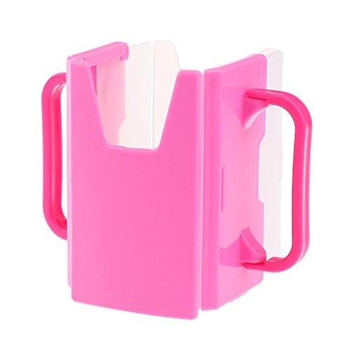 Prettyia Adjustable BPA-Free Juice Milk Box Drinking Cup Holder Toddler Self-Helper - - Holder Box Adjustable Juice