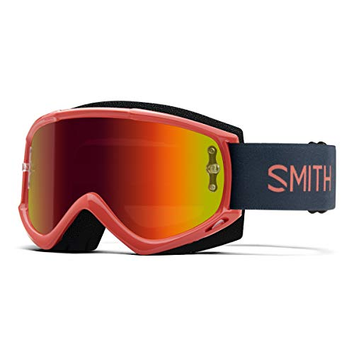 Smith Optics Fuel V.1 Adult Off-Road Cycling Goggles - Red Rock/Red Mirror/One Size ()