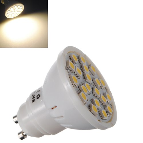 Gu10 Smd 5050 20 Led Light Bulbs in US - 3