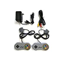 SNES 2 Controllers / Ac Power Supply / Av Adapter for Super Nintendo