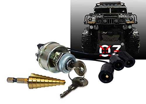 Used, Ignition Starter Keyed Switch Military Plug 4-Position for sale  Delivered anywhere in USA
