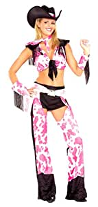 Adult Sexy Gun Slinging Cowgirl Costume - Adult Std.