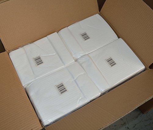 Toallas manicura desechables de spun-lace, 30x40 cm, 100 unidades.: Amazon.es: Belleza