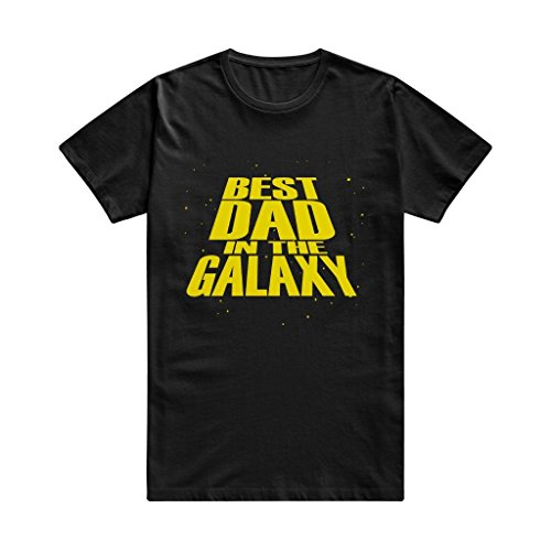 SEagleo Men's Best Dad In The Galaxy T-shirts