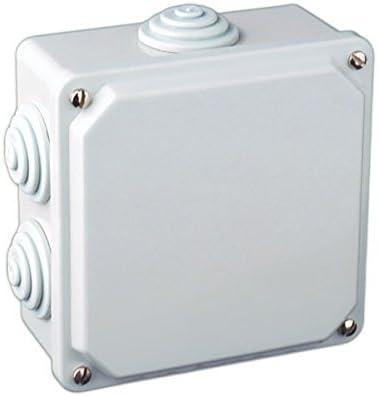 Caja eléctrica de superficie cuadrada 100x100x50mm: Amazon.es ...