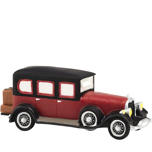 Department 56 Downton Abbey Series Lord Grantham's Limousine Accessory, 1.97
