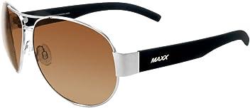 2f9d6c4ab03 2018 Maxx Sunglasses Maxx 16 Silver Frame TR90 HD Amber Lenses