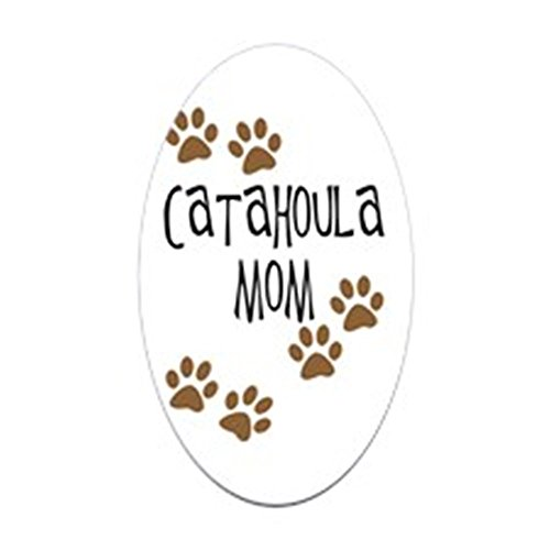 CafePress Catahoula Mom Oval Sticker Oval Bumper Sticker, Euro Oval Car Decal