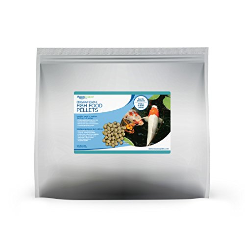 Aquascape Premium Staple Fish Food Pellets for Medium to Large Pond Fish, Large Pellet, 11 Pounds/5 kg | (Pond Large Pellet)