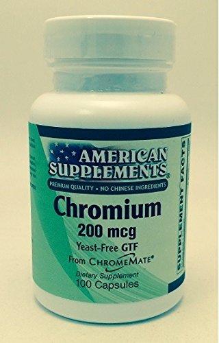 Chromium 200 MCG American Supplements 100 Caps ()