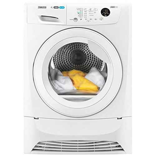 Zanussi ZDC8203W 8kg Load Condenser Tumble Dryer Sensor Drying Class B