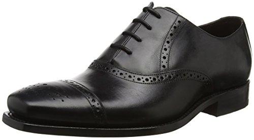 Black Scarpe Calf Stringate Uomo 17 Flynn BARKER Nero Oxford w1fqAnYWx5