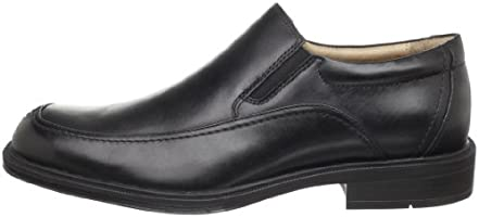 Florsheim BOGAN Mens Black 13116-001 Moc Toe Slip on Loafer Comfort Shoes