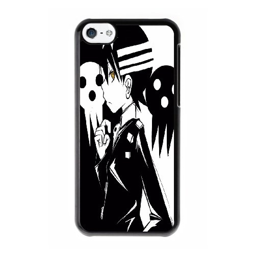 Coque,Coque iphone 5C Case Coque, Soul Eater Death The Kid Cover For Coque iphone 5C Cell Phone Case Cover Noir