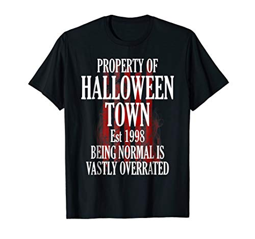 Halloween Town Est 1998 Funny Party T-Shirt