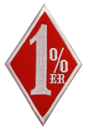 Amazon.com: Red 1% er Outlaw Motorcycle Club Gang Biker DIY ...