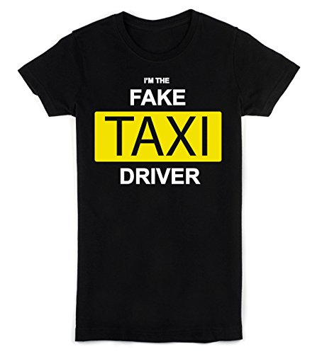Idcommerce Im The Fake Taxi Driver Womens T Shirt Small