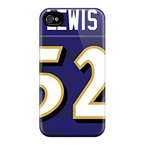 Scratch Resistant Cell-phone Hard Cover For Iphone 6plus (bFj19063MCgO) Custom Attractive Baltimore Ravens Pictures