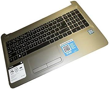 HP 855022-071 Carcasa Inferior con Teclado refacción para ...