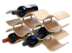 Oenophilia Bali Wine Rack, Natural - 10 Bottle
