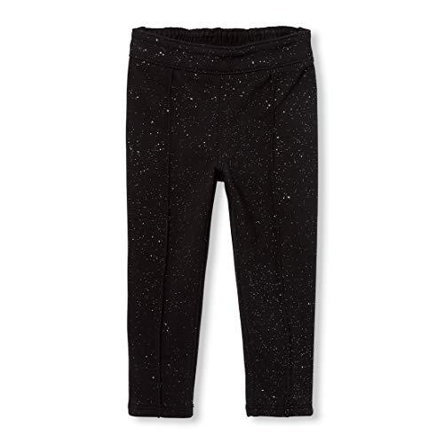 - The Children's Place Toddler Girls' Glitter Jeggings, Black, 4T
