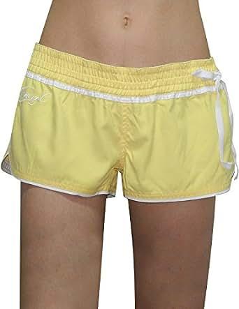 Rip Curl Womens Casual Beach & Surf Summer Shorts 14 Yellow