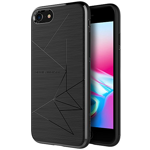 iPhone 8 Case, Nillkin Magnetic TPU Case [Specially Designed for Nillkin Car Magnetic Wireless Charger] Slim Soft Back Cover for iPhone 8