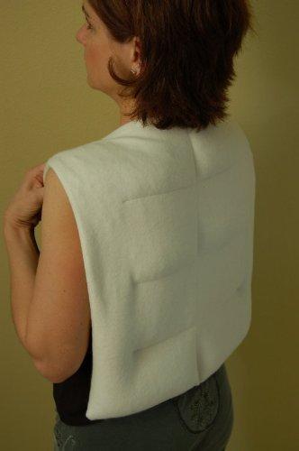 Concept Fleece - Herbal Concepts HCBACK-O Herbal Concepts HCBACK-O Organic Cotton Fleece Herbal Comfort Back Wrap