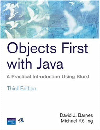 Objects first with java a practical introduction using bluej 3rd objects first with java a practical introduction using bluej 3rd edition david j barnes michael kolling 9780131976290 amazon books fandeluxe Image collections