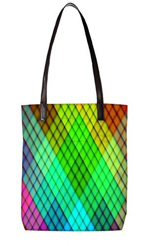 Snoogg Strandtasche, mehrfarbig (mehrfarbig) - LTR-BL-2689-ToteBag