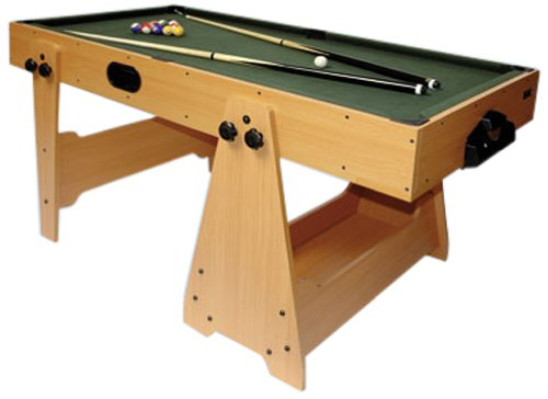 Dema Billard/Airhockey 2in1, braun