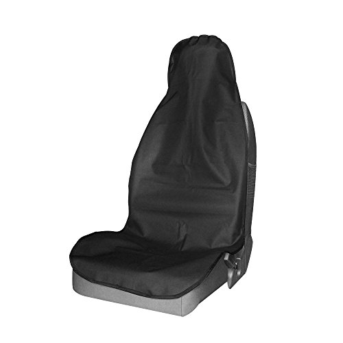Durapower Front Seat Cover for Cars Trucks & SUVs Universal Waterproof Car Seat Protector Non-Slip Backing