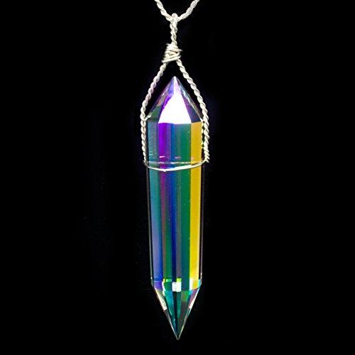 Vogel Crystal Pendant - Si Opal 12 Sided Vogel Pendant
