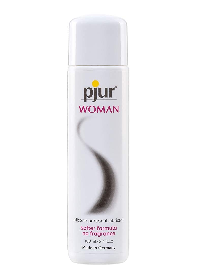 Pjur WOMAN Silicone Lubricant, 3.4 Ounce / 100 Milliliter