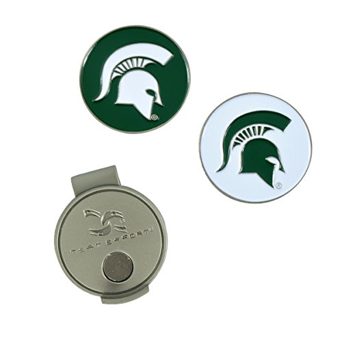 Team Effort Michigan State Spartans Hat Clip & 2 Ball ()