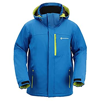 Image of Andorra Men's Performance Insulated Ski Jacket with Zip-Off Hood