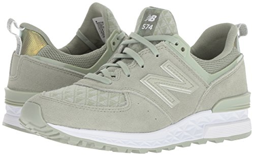 Argento Mint New Balance Sneaker silver Ws574v1 Donna nxIB8x