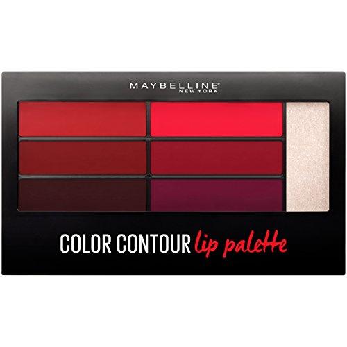 Maybelline New York Lip Studio Color Contour Lip Palette, Vamp Fatale, 0.17 Ounce
