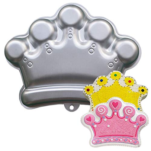 Baking tray Clearance , Mold Imperial Crown Cake Decoration Aluminum Cake Baking Tray Baking by Little Story