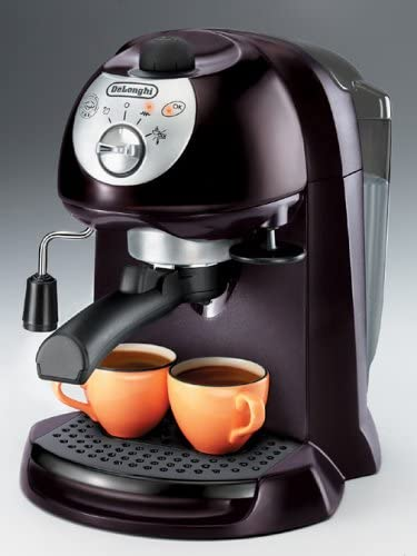 schwarz De/'Longhi EC251.B Cappuccino Machine Edelstahl