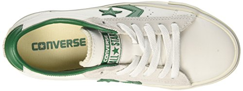 Converse Sneakers White Weiß Ox Unisex Pro pool Erwachsene turtledove Leather Vulc Table rwRrYq7