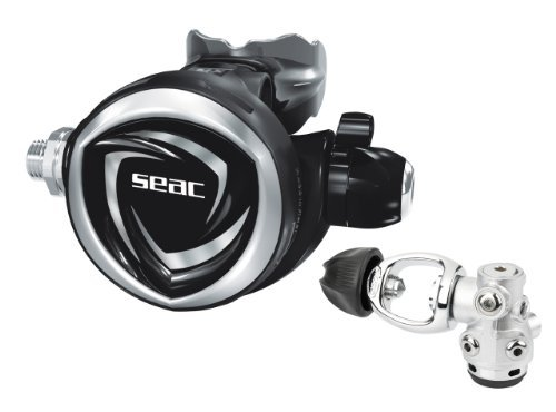 SEAC DX200 Scuba Diving INT/Yoke Regulator [並行輸入品] B06XFWRZKQ