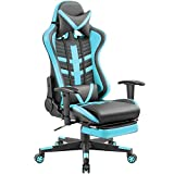 Homall Gaming Chair Ergonomic High-Back Racing Chair Pu Leather Bucket Seat,Computer Swivel Office