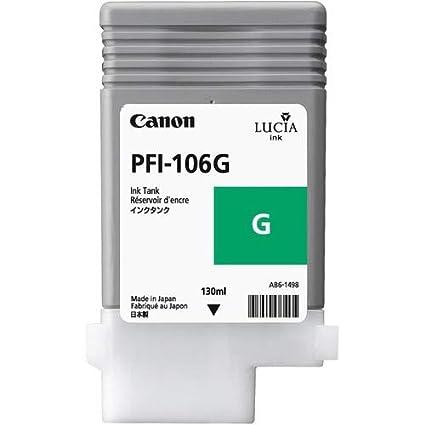 Canon PFI-106 G - Cartucho de Tinta para impresoras (Verde ...