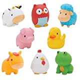 #6: Munchkin Squirtin Bath Toy, Barnyard Friends