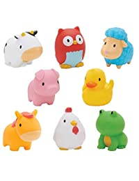 Munchkin Squirtin Bath Toy, Barnyard Friends BOBEBE Online Baby Store From New York to Miami and Los Angeles