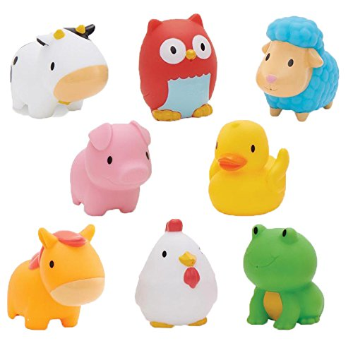 Munchkin Squirtin Bath Toy, Barnyard Friends