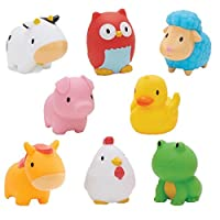 Munchkin Squirtin Bath Toy, Barnyard Friends