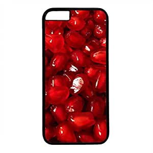 Hard Back Cover Case for iphone 6 Plus,Cool Fashion Black PC Shell Skin for iphone 6 Plus with Saeed Pomegranate